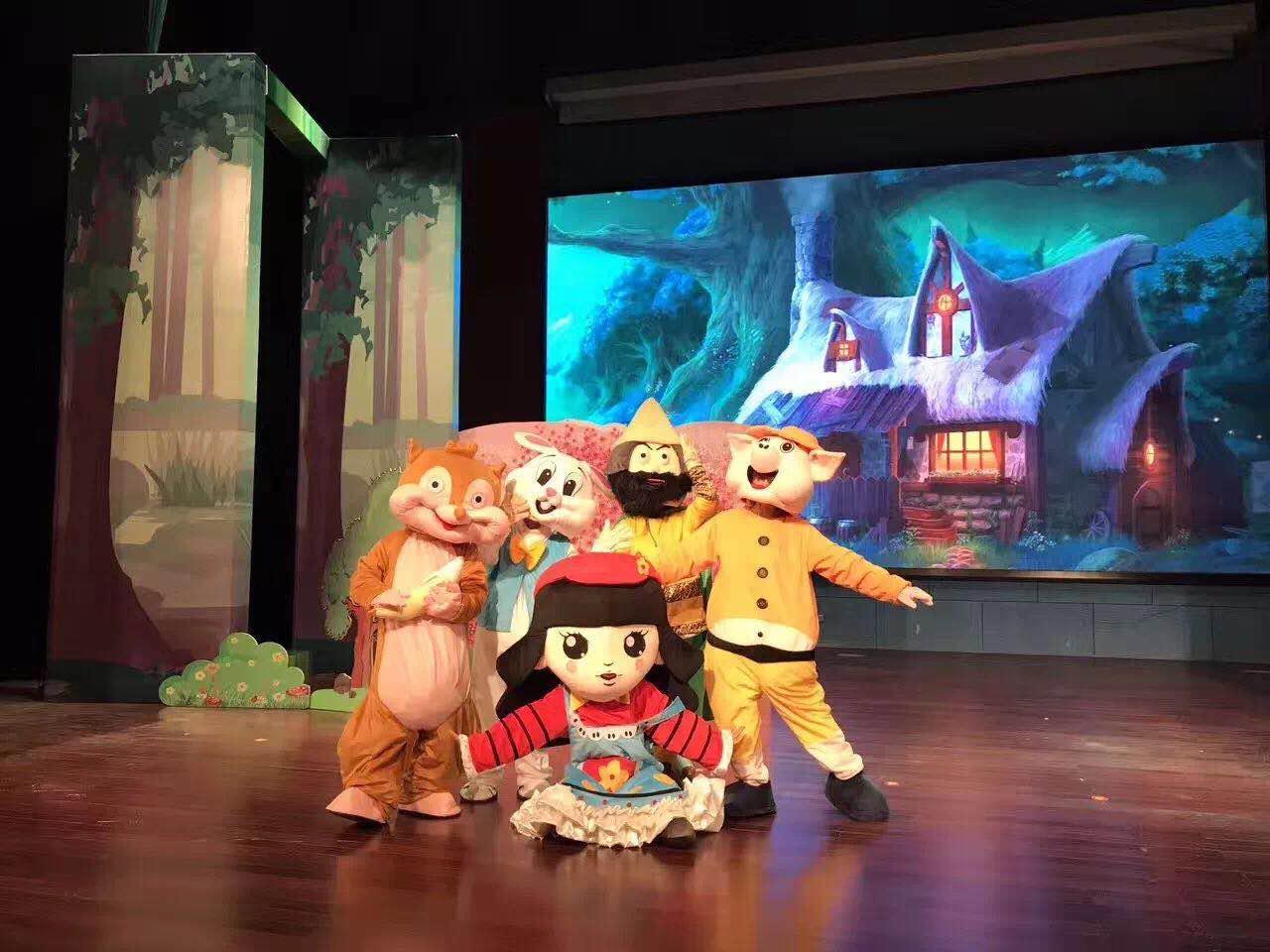 棒棒糖儿童话剧团是专业从事儿童卡通剧创作和演出的儿童艺术剧团,是